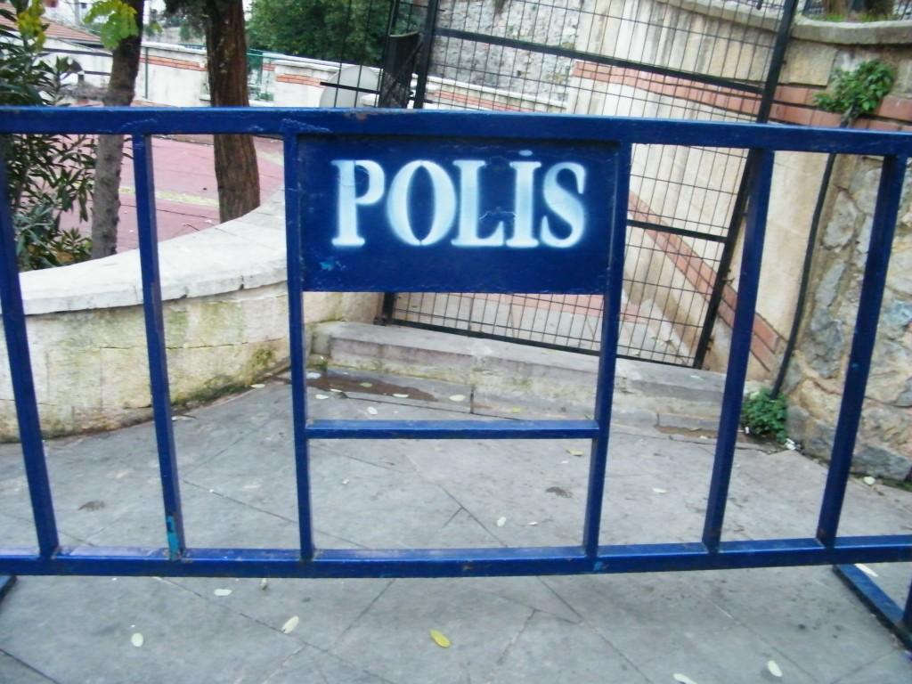 Controles policiales en las carreteras de Turquía