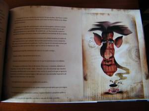 """Ilustración para """"carta de amor a George Orwell""""."""