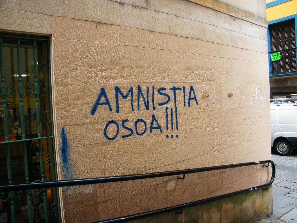 Reivindicación de la amnistía completa