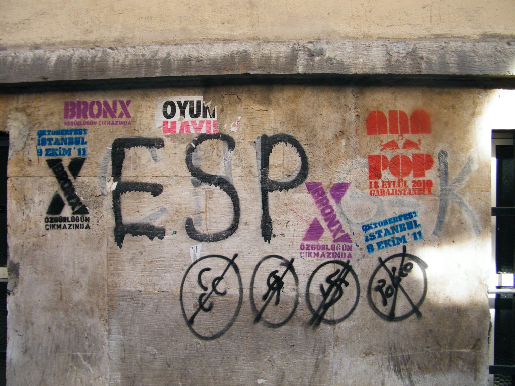 Partidos políticos sin representación/ Istanbul. J.M