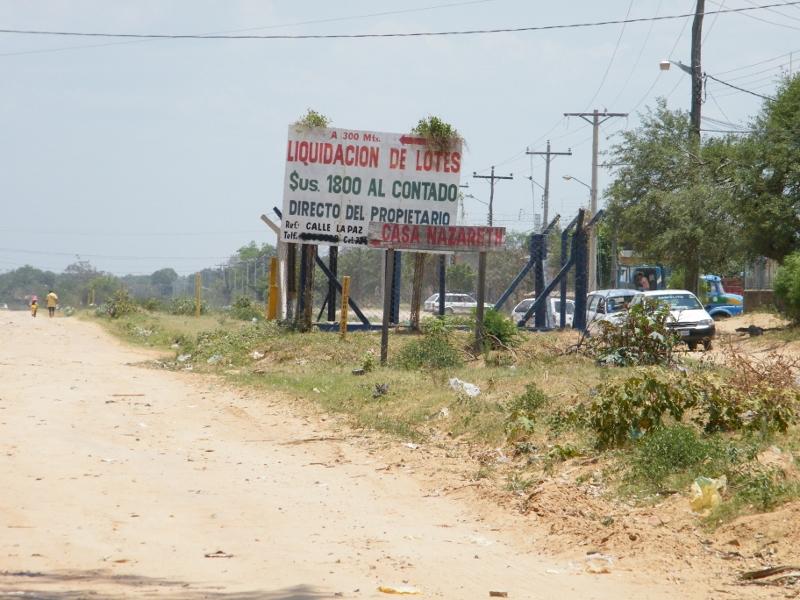 La prisión Palmasola se sitúa en el octavo anillo de Santa Cruz de la Sierra/ Bolivia. J.M