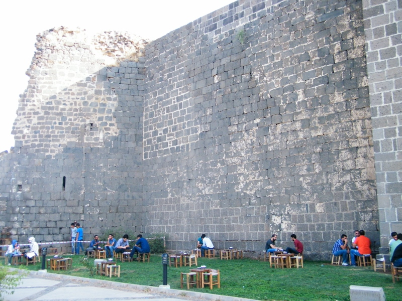 Muralla en Diyarbakir