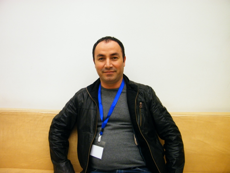 Serhat Temel en la Conferencia Internacional de Paz