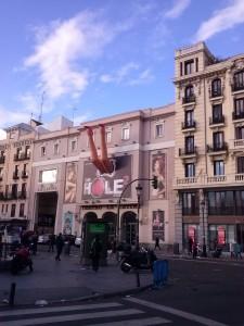 El desparpajo de Madrid