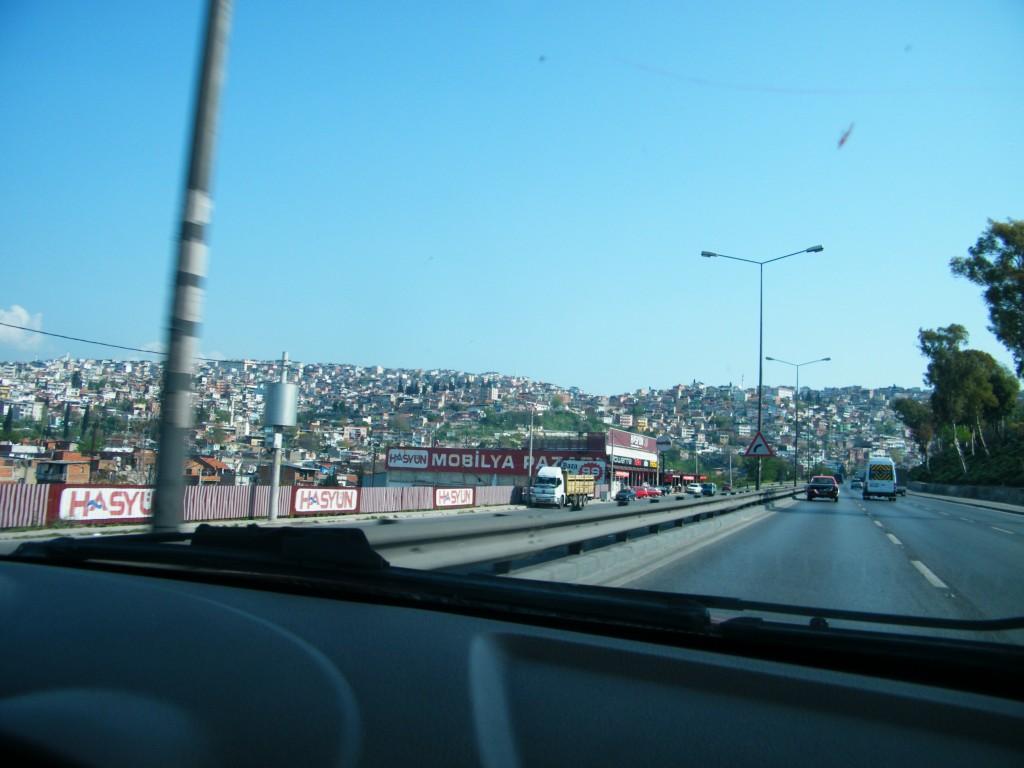 casas en las colinas de Izmir