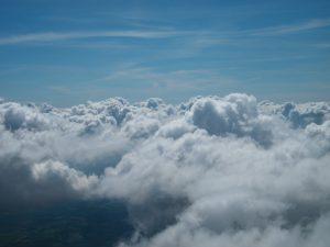 las nubes como tranquilidad