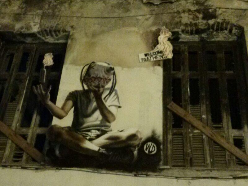 juventud azotada en Atenas