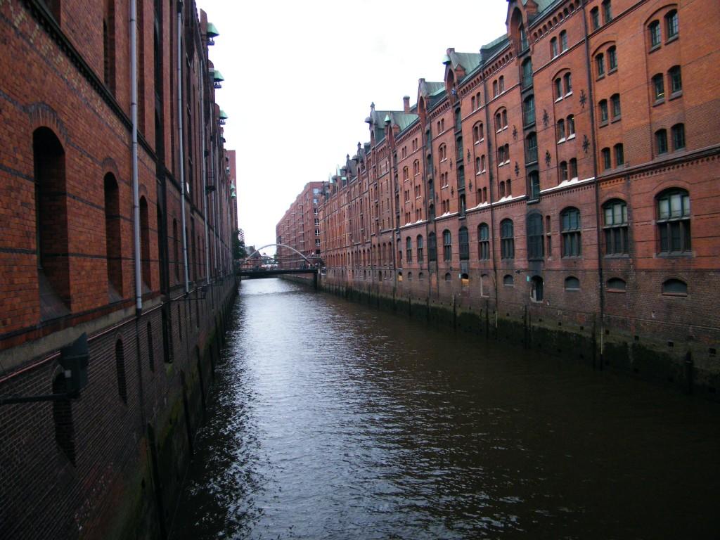 Canales en hamburgo