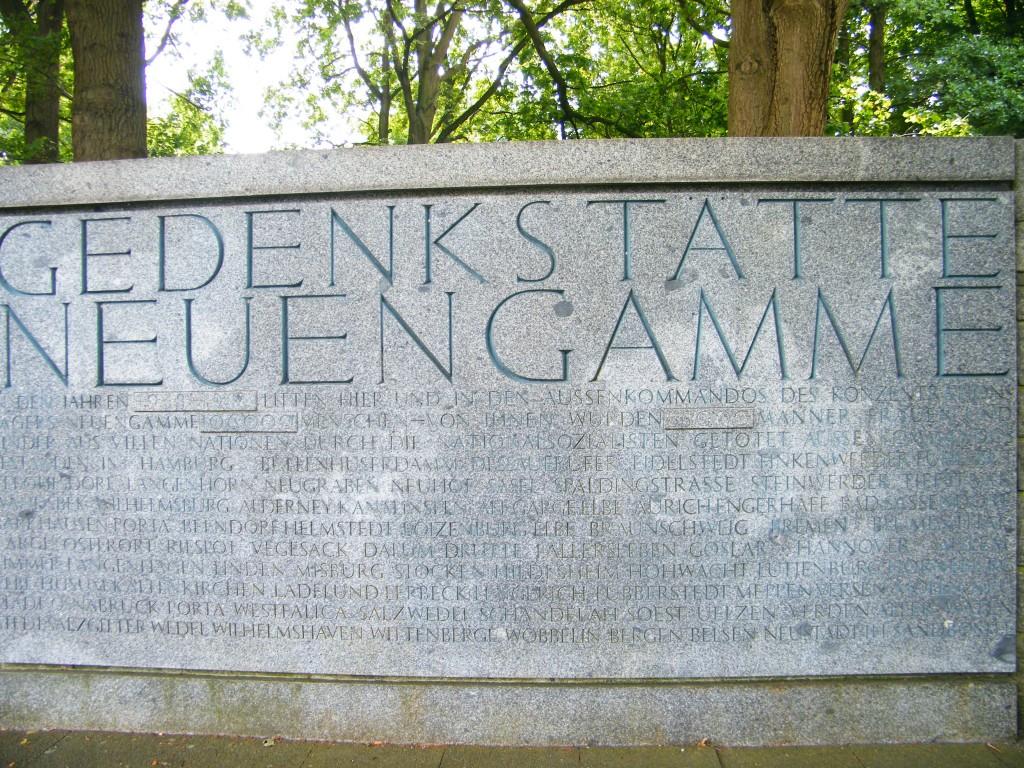 conmemorativo de campo de concentración de Neuengamme