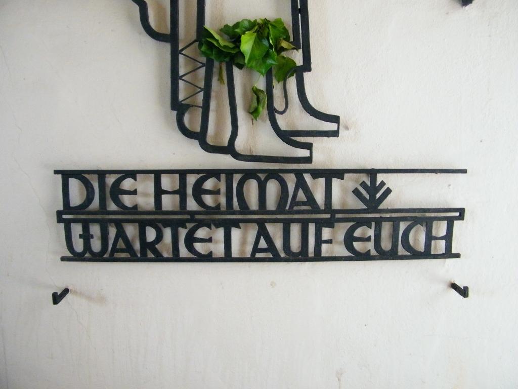 La patria os espera. Alemania