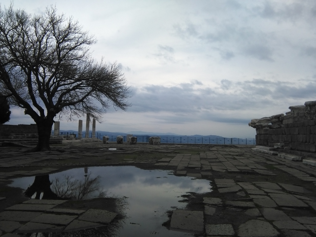 Ruinas de Turquía en Izmir