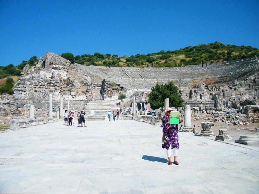 Ephesus como lugar de turismo