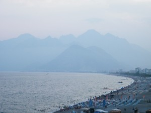 preciosas montañas en Antalya