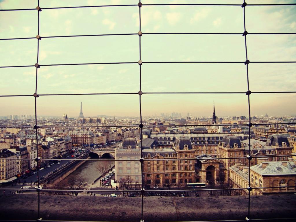 Vista de París.