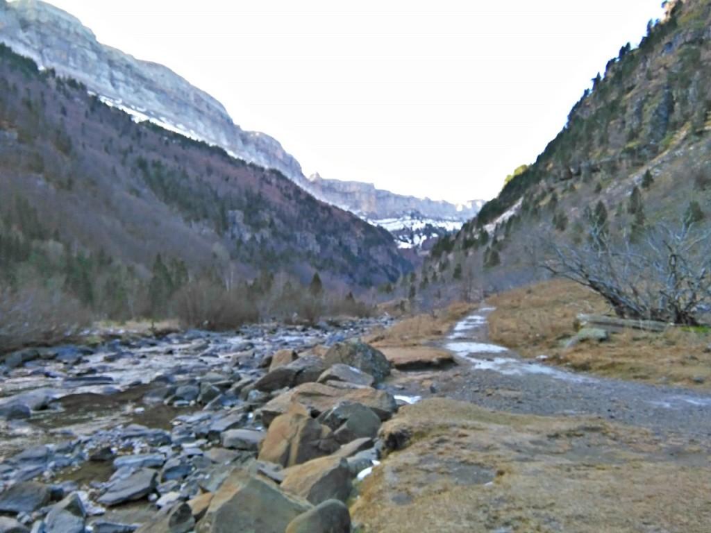 Naturaleza en Valle de Ordisa en Pirineos