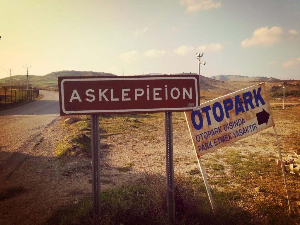 nombre complicado de Asklepieion en Bergama