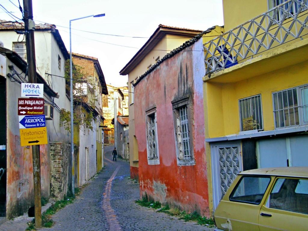 De paseo por el centro de Bergama