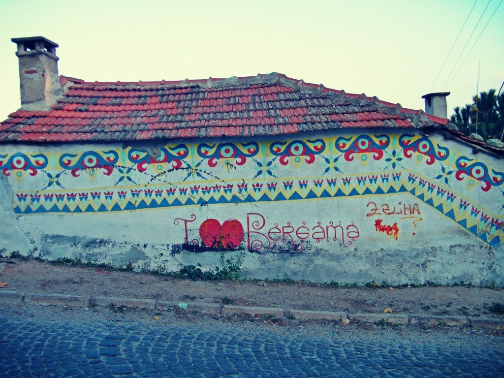 Pintada en Bergama después de ver Asklepeion