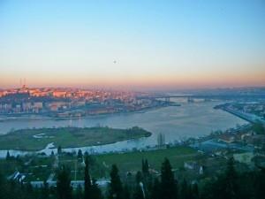 Vista de Estambul desde Pierre Loti