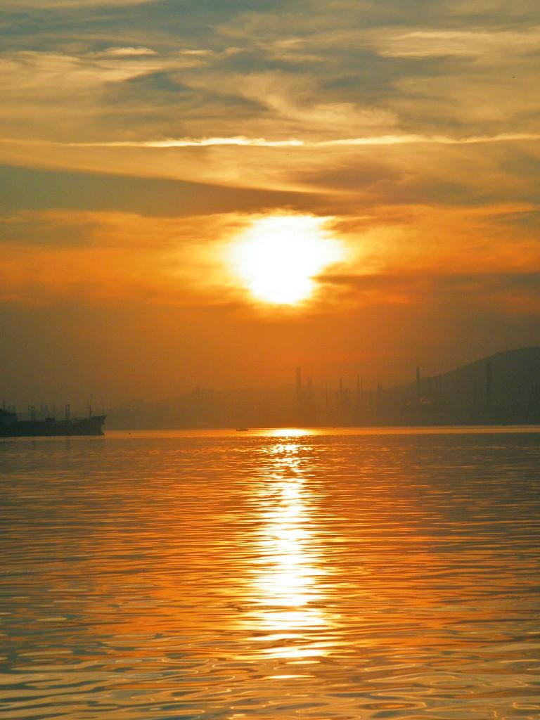 Atardecer en Izmir