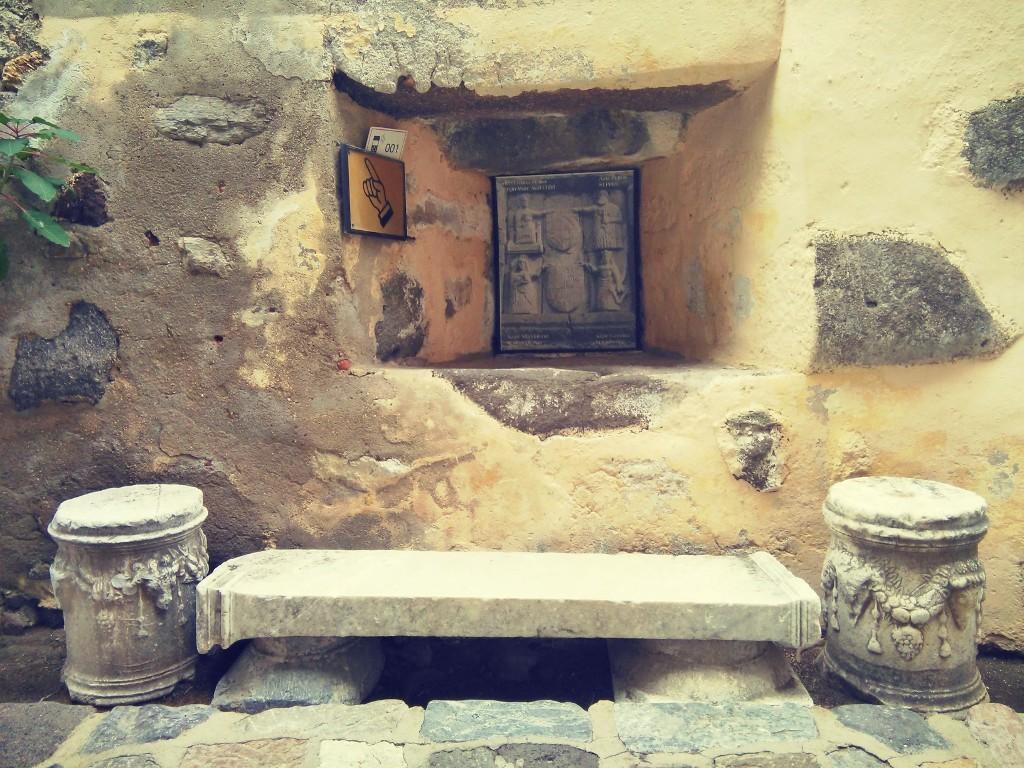 rincón prcioso en el castillo de Bodrum