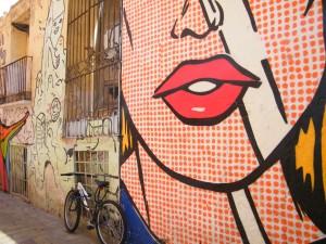 Las paredes como soporte de expresión ciudadana.