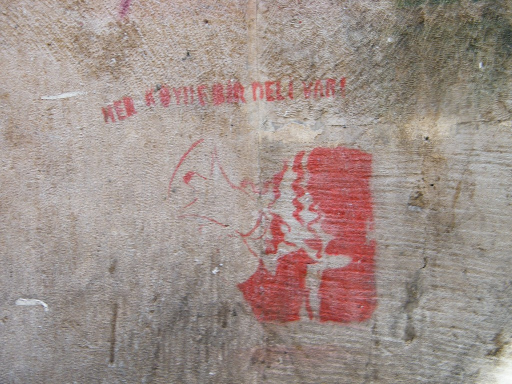 Traducción: Blind alley of freedom/ Kadikoy. J.M