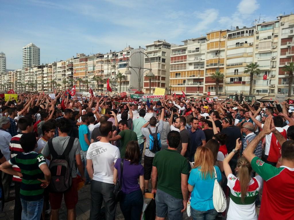 Protestas en Izmir