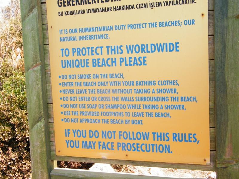 Preservar la arena.